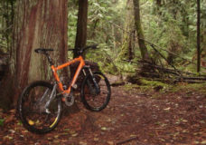 Mountain biker injured in Saanich, transported to hospital