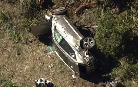 Tiger Woods was going nearly 150 km/h when SUV crashed near Los Angeles