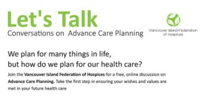 Let's Talk – Conversations on Advance Care Planning @ Zoom