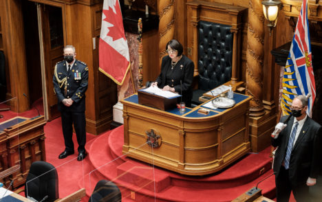 B.C. appeals for 'final push' against COVID-19 in throne speech