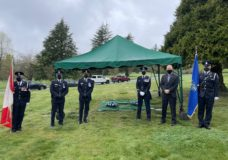 Saanich Police honour officer who died in the line of duty 61 years ago
