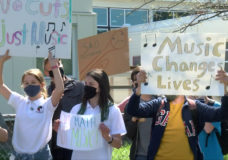 Greater Victoria School District pauses budget vote following protests over proposed cuts