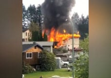 Family displaced after fire destroys Gold River home