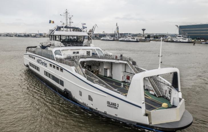 BC Ferries' third Island Class ferry making journey across Atlantic to B.C.