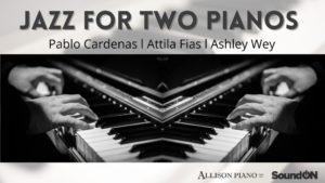Jazz for Two Pianos @ Hermann's Jazz Club's Livestream