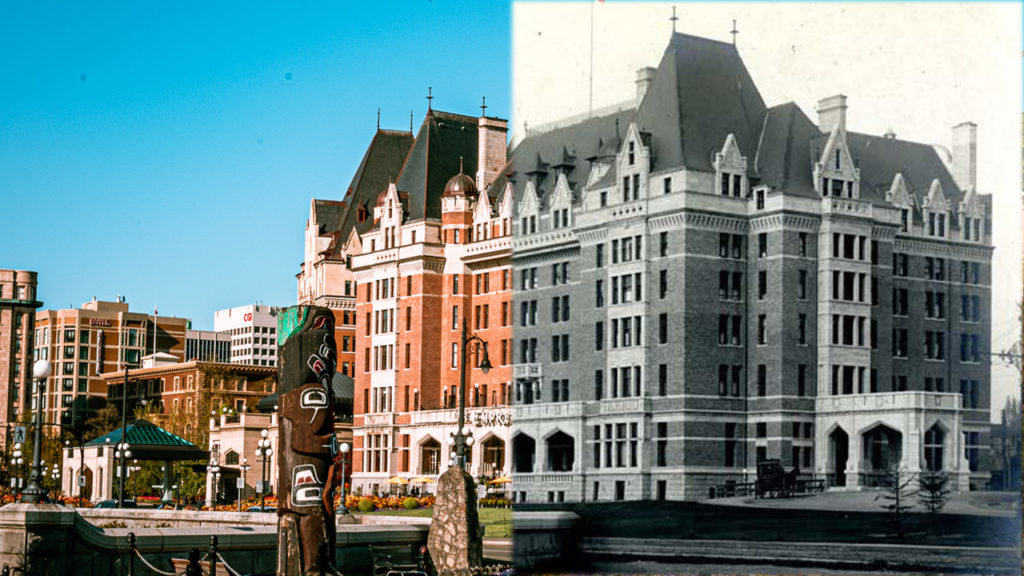 Then and Now: Go back in time with these photo comparisons of Victoria over the past century