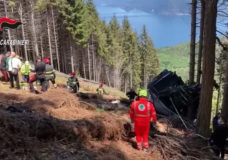 Italian cable car plunges to the ground, killing at least 14