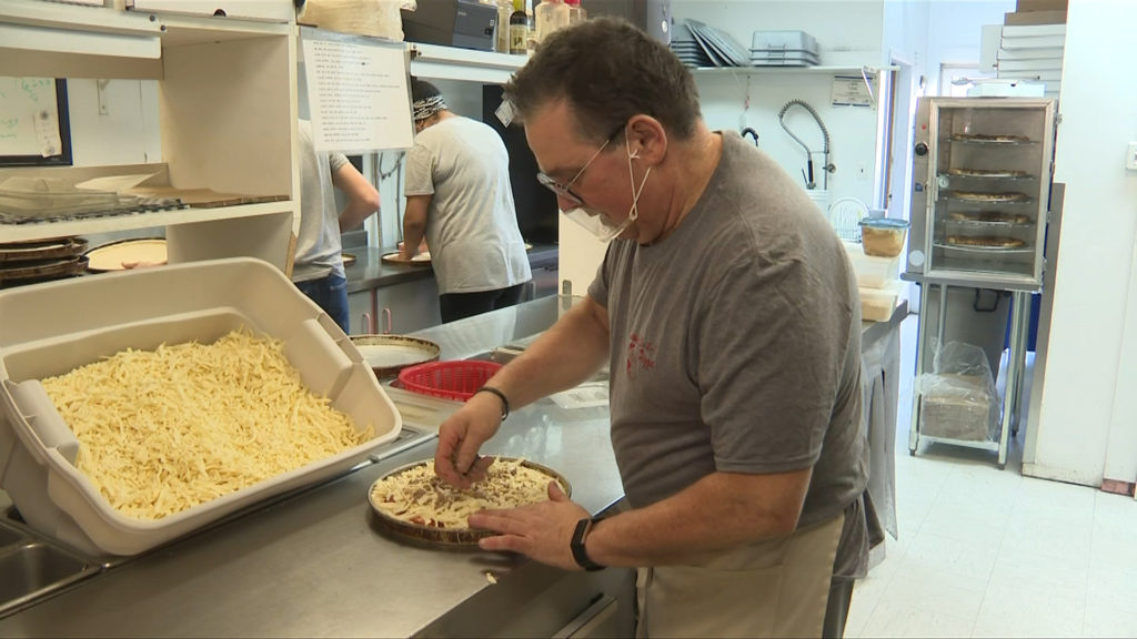 CHEK Upside: Pizza company feeds Sooke emergency shelter free of charge