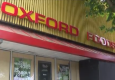 'Iconic' Oxford Foods signs up for grabs by way of donation