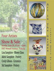 Four Artists Art in the Garden Victoria @ Lisa's Garden