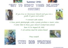 """""""Get to Know your Island"""" youth environmental art contest"""