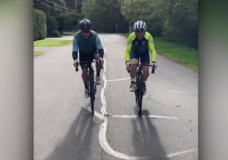 Pair to cycle 559 km on Vancouver Island non-stop to help support friend