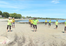CHEK Upside: Groovin' grannies celebrate first gathering in over a year with heart-felt flash mob at Victoria's Willows beach