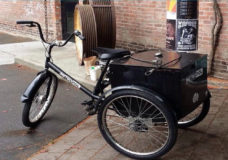Unique adult tricycle stolen in Victoria from local business