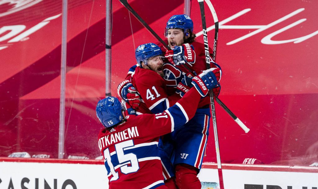 Andreson's timely scoring, Price's goaltending give Habs 2-1 series lead over Vegas