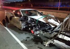 West Shore RCMP believe possible impaired driver involved in Corvette collision