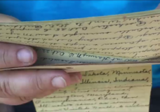 Island family unearths 'incredible' treasure of diary and photos from pandemic of 1918