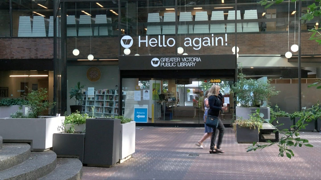 Greater Victoria Public Libraries continue to reinstate services for the public
