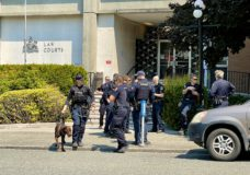 Victoria courthouse evacuated due to bomb threat