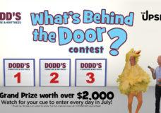 What's Behind The Door? Contest