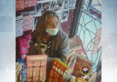Police seek suspect after theft from Victoria romance shop