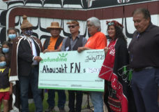 Ahousaht First Nation receive $75,000 donation to search the grounds of residential schools