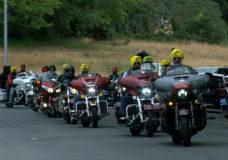 Sikh Legendary Riders depart Mile Zero on cross-country tour for kids