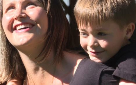 Victoria MLA Grace Lore eases back into work, amid son's health challenges