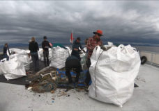 Local tourism workers help with collecting 425 tonnes of trash along B.C. shoreline