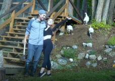 CHEK Upside: One year later we check in with Pender Island couple living solely off the land