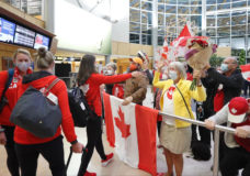 'Is this a dream?': Team Canada women's eight rowing team returns home with gold