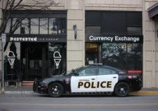 Man arrested for brandishing knife, breaching probation