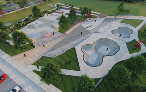 Victoria council to vote on proposed designs for new sports field, skate and bike park at Topaz Park