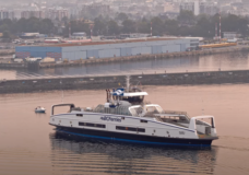 VIDEO: Fourth hybrid-electric vessel in BC Ferries' fleet arrives in Victoria