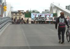 Protesters shut down Johnson Street Bridge during rush hour