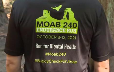CHEK Upside: Victoria runner raising funds for mental health charity