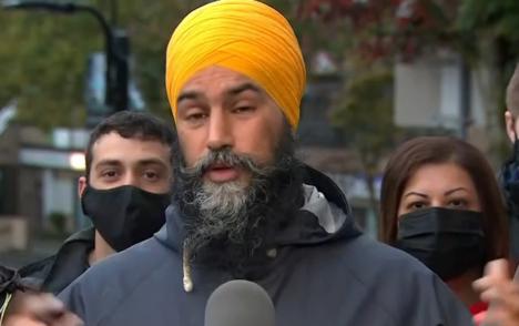 NDP Leader Jagmeet Singh defends leadership after party makes minimal gains