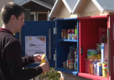 Little Free Pantry opens in Langford as region deals with food insecurity issues