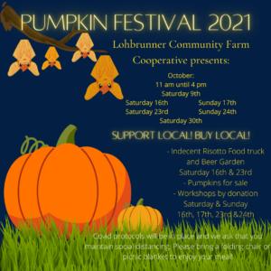 Lohbrunner Community Farm Pumpkin Festival @ Lohbrunner Community Farm Cooperative