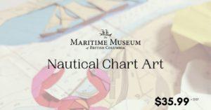 Workshop: Nautical Chart Art @ The Maritime Museum of BC