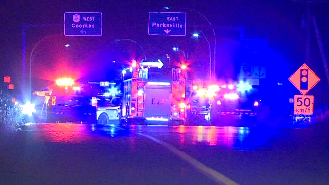 BC Highway Patrol seeks witnesses to fatal crash in Parksville