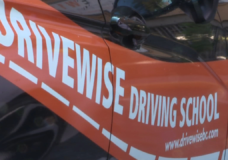 DriveWise driving school installs video cameras inside all of their vehicles
