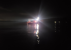Man arrested for impaired driving after plunging truck down boat launch in Cowichan Bay: RCMP