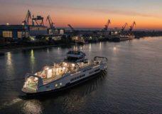 BC Ferries' final Island Class vessel departs Romania on transatlantic voyage