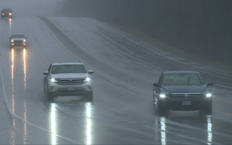 Another rain storm drenches Vancouver Island