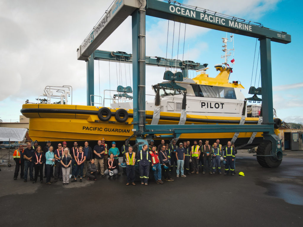 'State of the art' pilot boat completed in Campbell River