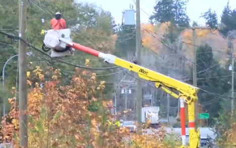 Storm knocks out power to thousands on Vancouver Island, ahead of Sunday's 'major' event