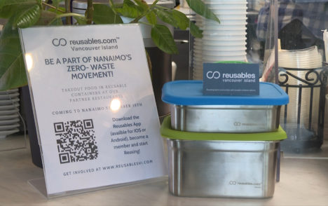 CHEK Upside: Nanaimo company offering reusable take-out containers